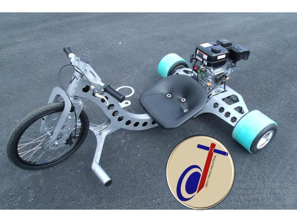 Industrial Drifter Trike Axle and Wheel Kit